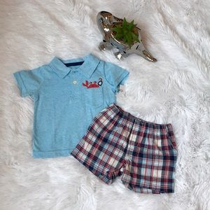 Carter's Matching Sets - Carter's Shirt and Short Set